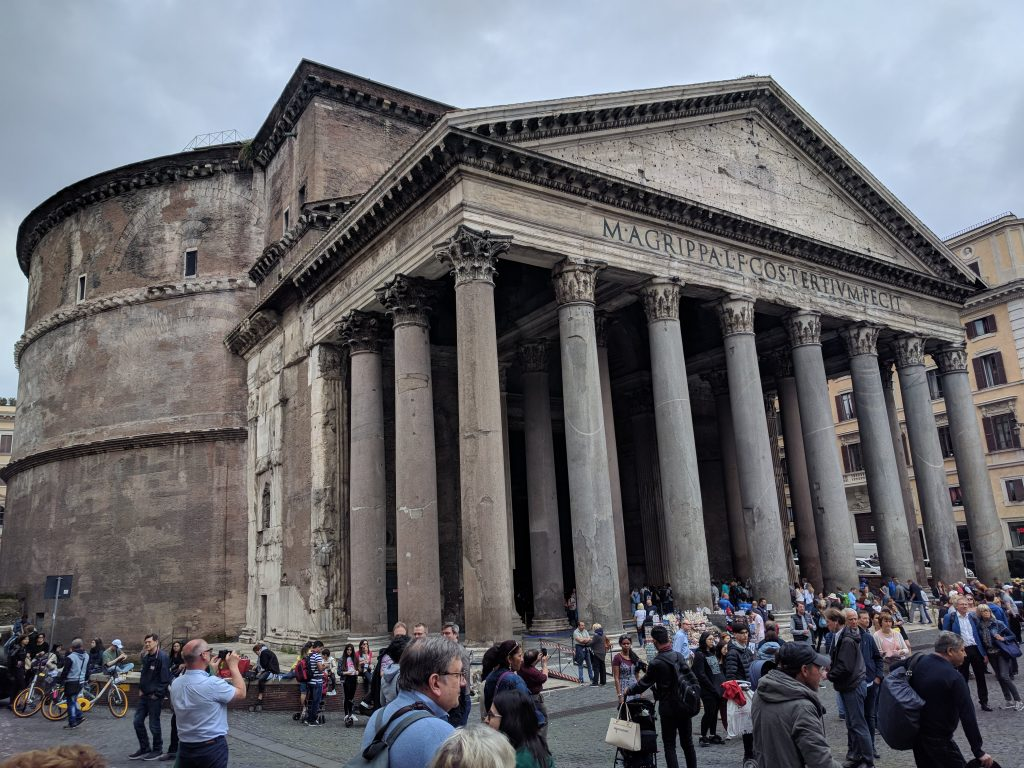 ancient architecture Rome Italy