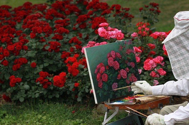 relaxing painting